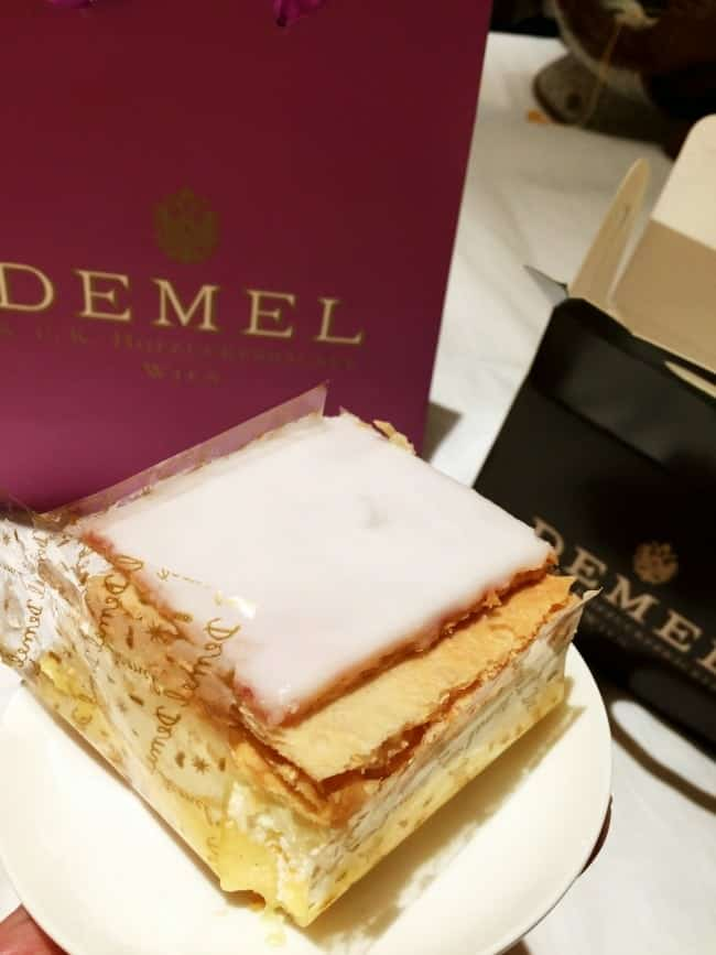 The pastries in Demel bakery are amazing. One of the most famous bakeries in Austria.