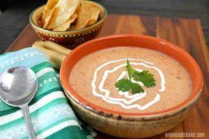 Potato Chipotle Tortilla Soup Recipe