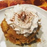 Get your pumpkin fix with this quick and easy pumpkin mug cake recipe.