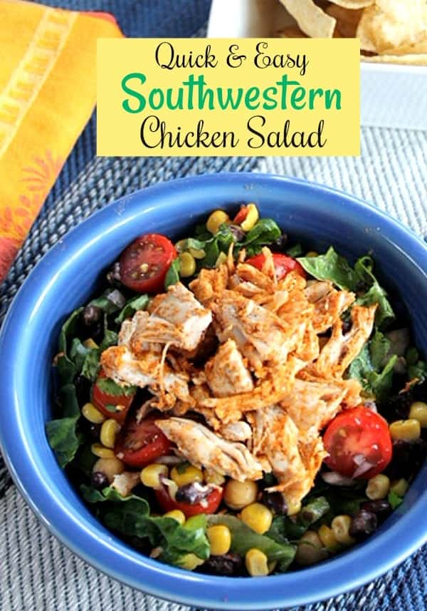 Easy Southwestern Chicken Salad Recipe
