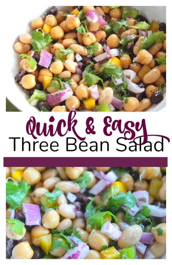 Updated Three Bean Salad Recipe