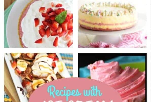 recipes with ice cream