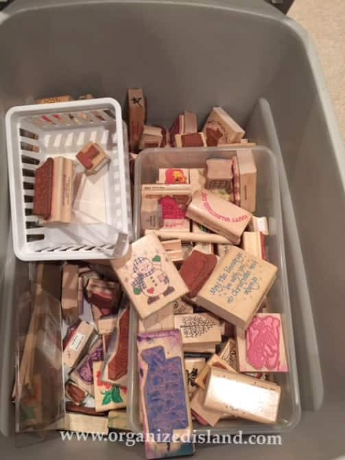 Don't let your craft supplies get out of hand. See what I repurposed to organize mine.