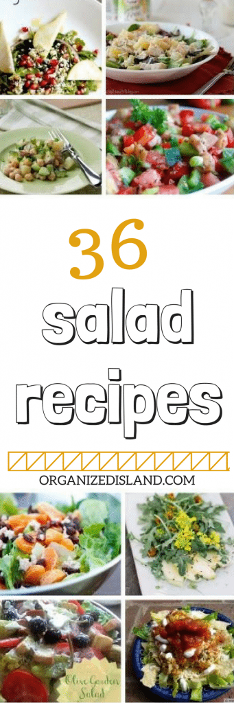 Wonderful Salad recipes for your recipe box!