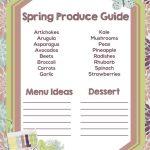 Seasonal Produce Guide Spring