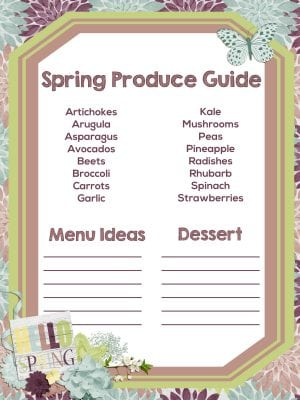 Seasonal Produce Guide Spring