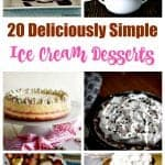 Simple ice cream dessert recipes
