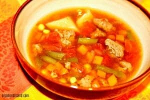 20+ Instant Pot and Slow Cooker Soups - Slow Cooker Beef Vegetable Soup