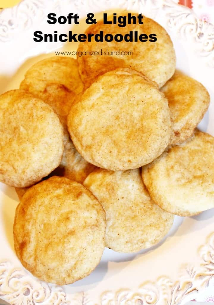 This is the best recipe for soft and light Snickerdoodles. So tasty & always popular!