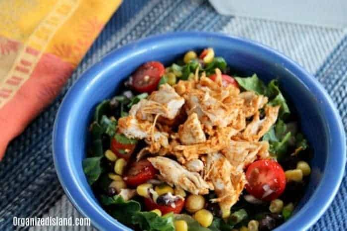 Easy Southwest Chicken Salad Recipe