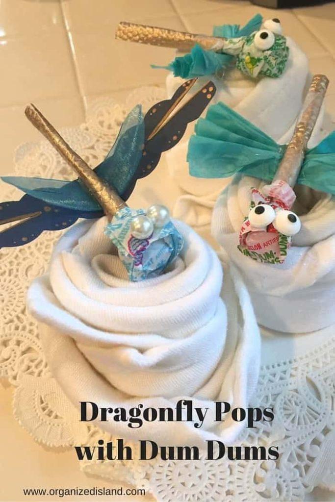 Dum Dum lollipops spring craft idea!