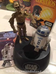 Star Wars Collectibles over the years.