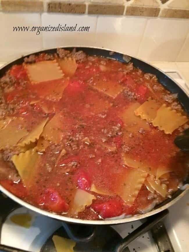 stovetop-lasagna