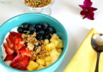 Summer breakfast fruit smoothie bowls are a great way to incorporate more fresh fruit into your meals!