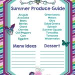 Summer Produce Guide
