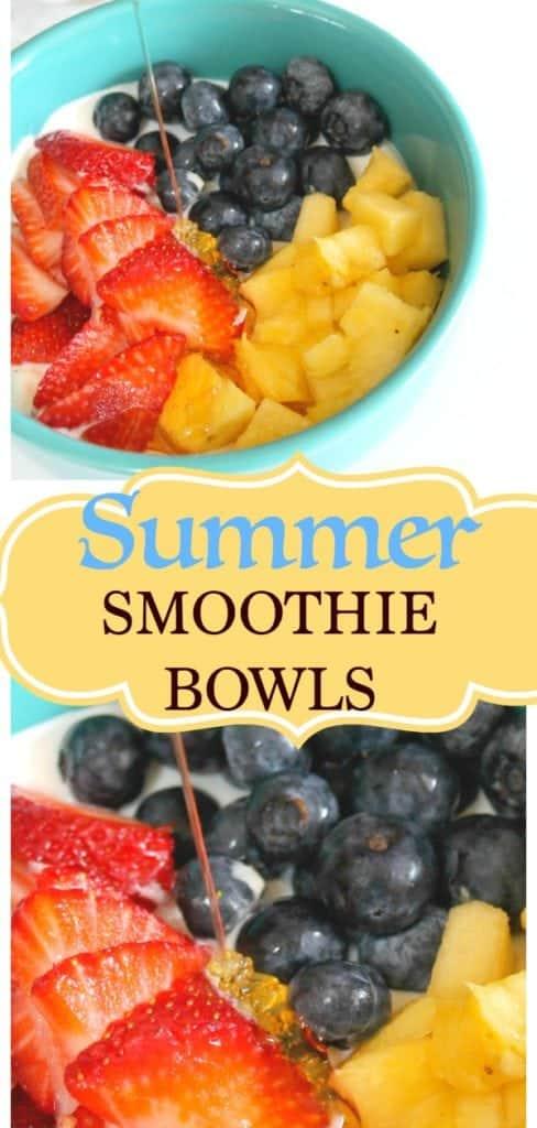 summer smoothie bowls