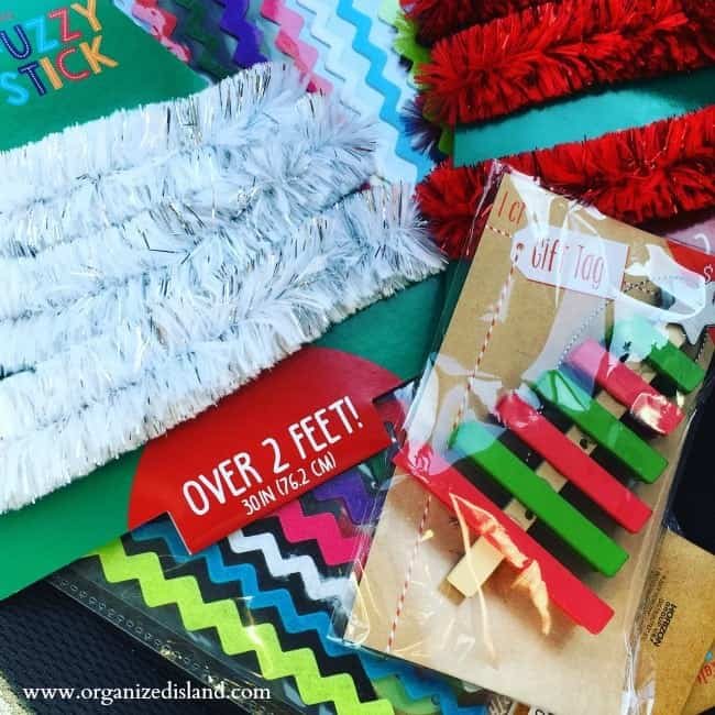 Target Dollar spot is a great place for craft supplies!