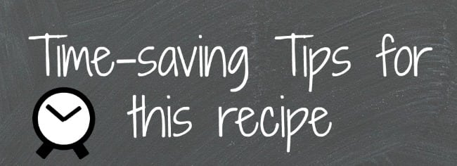 tips to streamline recipes