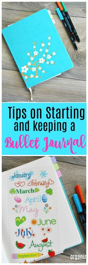 Tips on Starting and Using a Bullet Journal.