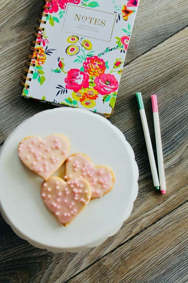 A tasty and easy Valentines Sugar Cookies Recipe