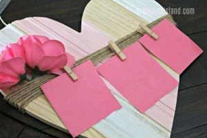Dollar bin Valentine's Craft Idea - using items from Target Bullseye Playground
