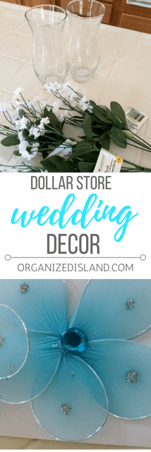 Save money on your wedding decor with these frugal ideas using dollar store supplies.