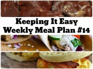 Weekly meal plan ideas for spring!