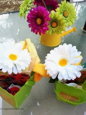 These cute planting gift baskets are a wonderful way to celebrate the warmer weather!