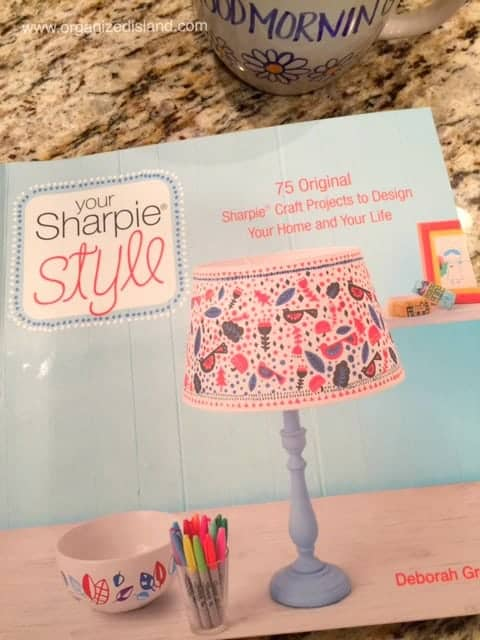 This sharpie art book has lots of ideas for decorating with markers!